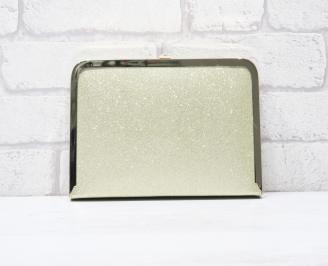 Абитуриентска чанта сатен/брокат златиста VABC-25763