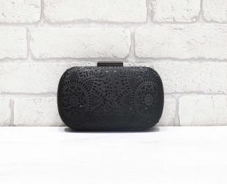 Абитуриентска чанта сатен черна GUUY-26609