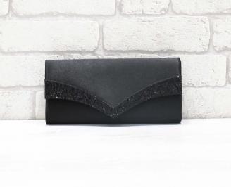 Абитуриентска чанта сатен черна OYKP-26633
