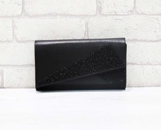 Абитуриентска чанта сатен черна EMNF-26637
