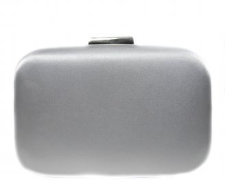 Абитуриентска чанта сребрист текстил PVMT-20881
