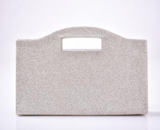 Абитуриентска чанта текстил/брокат златиста PUIC-1013407