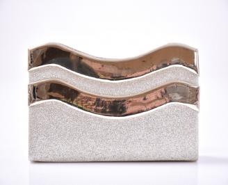 Абитуриентска чанта текстил/брокат златиста QCHL-1013413