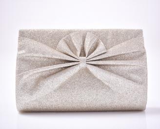Абитуриентска чанта текстил/брокат златиста ROTU-1013434