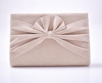 Абитуриентска чанта текстил/брокат бежова NNCB-1013436