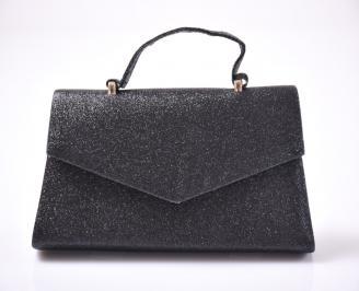 Абитуриентска чанта текстил ситен брокат черена QNZL-1013444