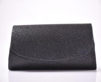 Абитуриентска чанта текстил ситен брокат тъмно сребрист XYAJ-1013476