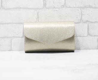 Абитуриентска чанта текстил златиста RHJM-25941