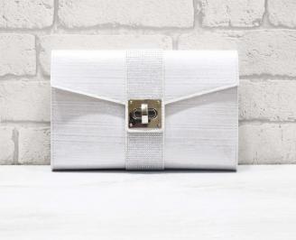 Абитуриентска чанта текстил сребриста KPSE-26621