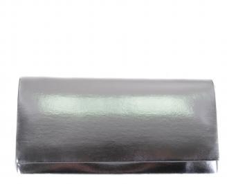 Бална чанта еко кожа сребро QKLF-18543