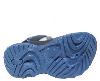 Бебешки  равни сандали  Rider сини SLKQ-21656
