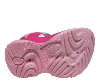 Бебешки равни  сандали Rider розови WKYB-21657
