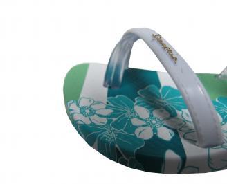 Бебешки равни сандали Rider бели UYWJ-21672