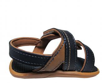 Бебешки равни сандали Rider  еко кожа  черни EYEM-21690