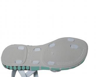 Бебешки  равни силиконови сандали Ipanema сребристи YHVF-21702