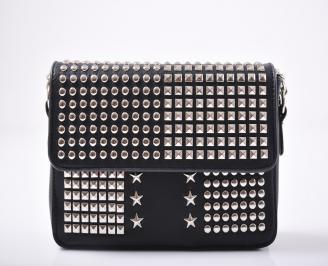 Дамска чанта еко кожа черна AZSW-1011956