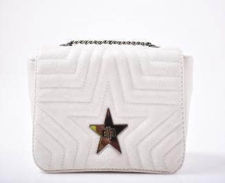 Дамска чанта еко кожа бежова XAXB-1011967