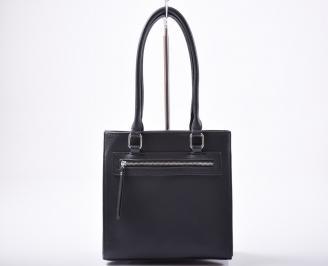 Дамска чанта еко кожа черна RXJZ-1011999