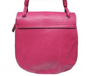 Дамска чанта еко кожа лилава XALO-21517