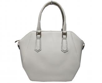Дамска чанта еко кожа бежова FWPI-21522