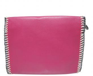 Дамска чанта еко кожа розова WCKG-21529