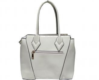 Дамска чанта еко кожа/лак бежова AWQV-21756