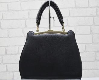 Дамска чанта еко кожа черна BWYP-23423