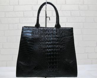 Дамска чанта еко кожа черна DDZV-23556
