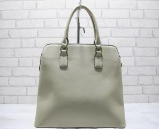 Дамска чанта еко кожа бежова ZTWS-23558