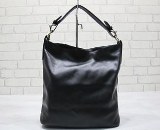 Дамска чанта еко кожа черна WHPU-23565
