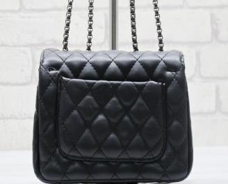 Дамска чанта еко кожа черна TDZB-23583