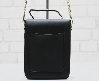 Дамска чанта еко кожа черна PVZZ-23589