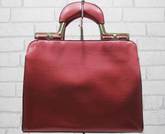 Дамска чанта еко кожа червена ATSN-23776