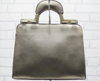 Дамска чанта еко кожа кафява JZOU-23777