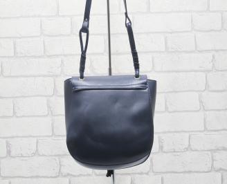 Дамска чанта еко кожа  тъмно синя PBSA-24519