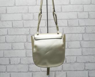 Дамска чанта еко кожа  златиста GJLQ-24521