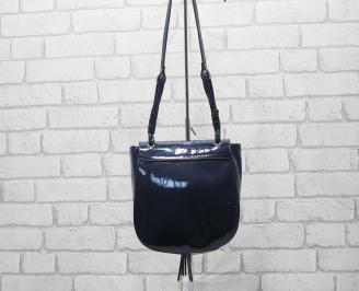 Дамска чанта еко кожа тъмно синя LOVI-24527