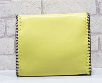 Дамска чанта еко кожа жълта EDGG-24539
