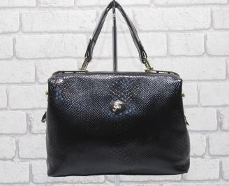 Дамска чанта еко кожа черна PKDJ-24827