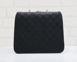 Дамска чанта еко кожа в черен цвят TTJY-24879