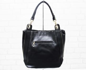 Дамска чанта еко кожа черна HMXB-25318