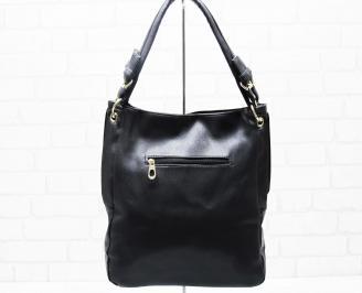 Дамска чанта еко кожа черна DWTF-25319