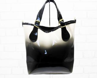 Дамска чанта еко кожа бежова EGPZ-25321