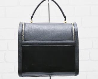 Дамска чанта еко кожа черна MGSE-25484