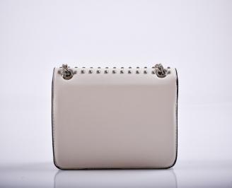 Дамска чанта еко кожа бежова GYTP-26277