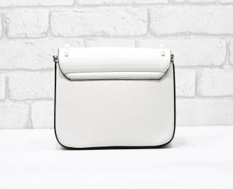 Дамска чанта еко кожа бежова KCSP-26278