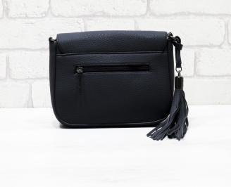 Дамска чанта еко кожа синя JBSN-26280