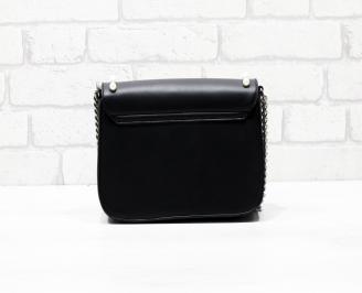 Дамска чанта еко кожа черна HDSH-26283
