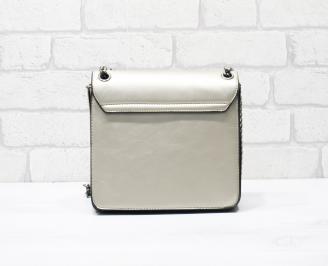 Дамска чанта еко кожа златиста MWCT-26323