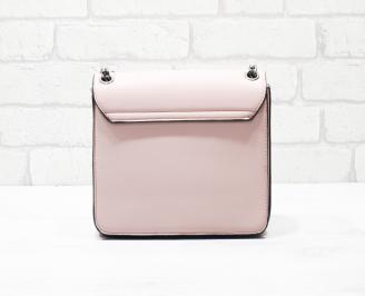 Дамска чанта еко кожа розова LMCX-26324